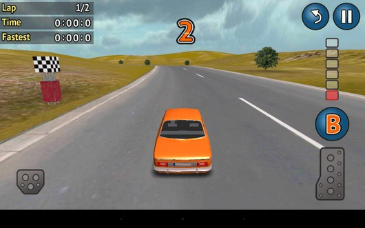 НАчало заезда Rally Cross для Android