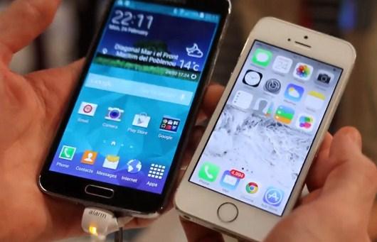 Сравнение двух премиум смартфонов - Samsung Galaxy S5 и iPhone 5S