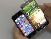 Samsung Galaxy S5 и Apple iPhone 5S - сравнение на видео
