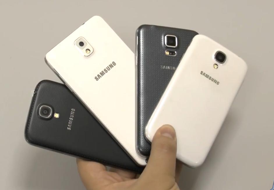 Внешний вид Самсунг Галакси С5 и его сравнение с другими смартфонами