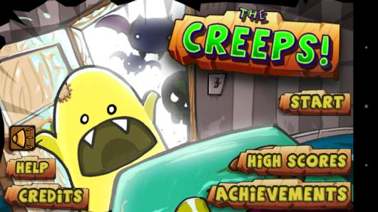 Меню - The Creeps! для Android