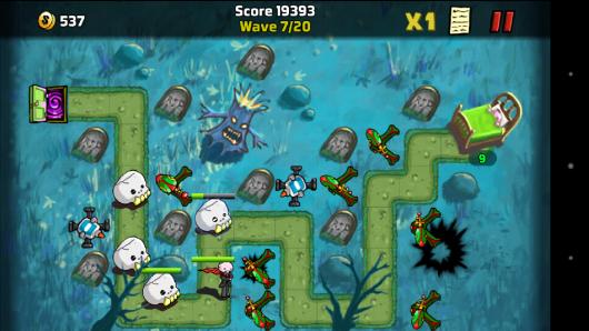 1 уровень - The Creeps! для Android