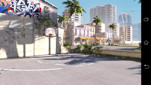Баскетбольная площадка - Slam Dunk Basketball 2 для Android