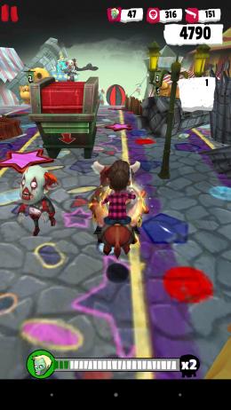 Погоня на быке - Zombie Killer Squad для Android