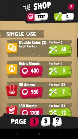 Магазин - Zombie Killer Squad для Android