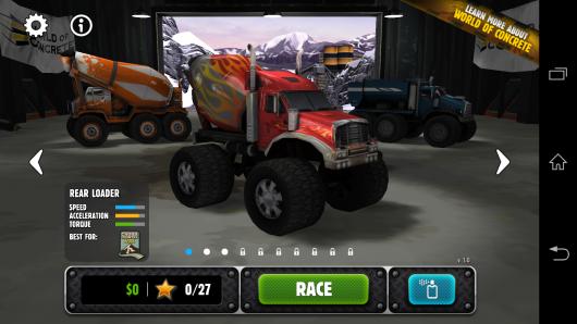 Выбор грузовика - Rig Racin' для Android