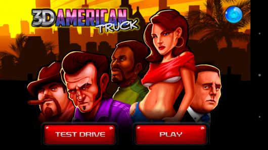 Меню - 3D American Truck для Android