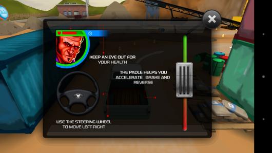 Управление - 3D American Truck для Android