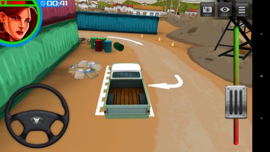 Парковка - 3D American Truck для Android