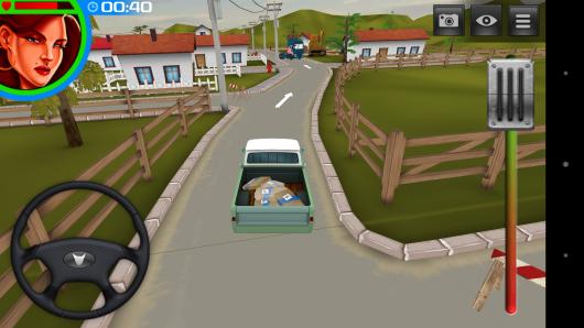 Транспортировка груза - 3D American Truck для Android