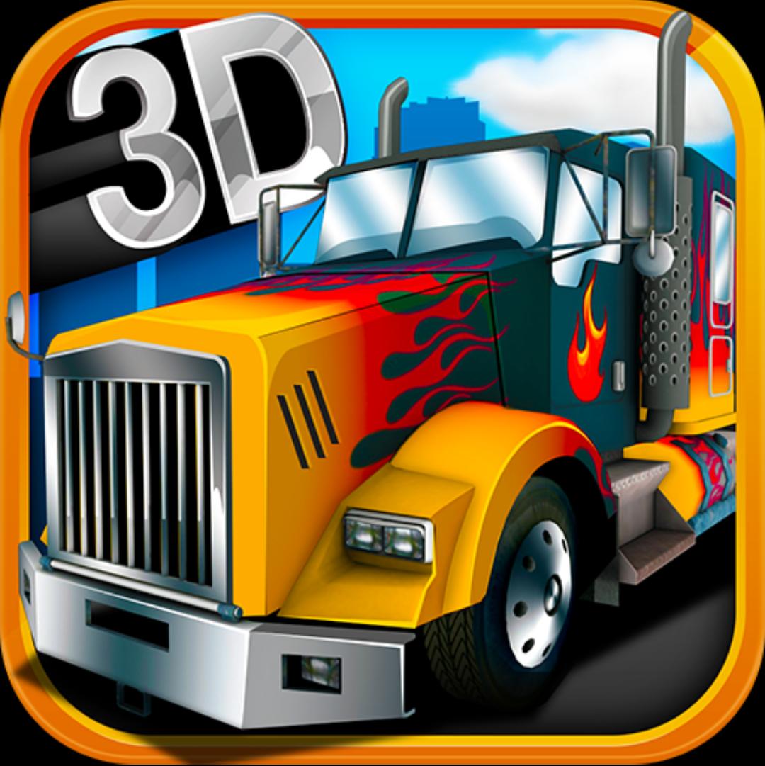 Иконка - 3D American Truck для Android