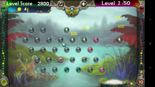 Очки в игре - Pegland Deluxe для Android