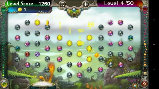 Огненные шарики - Pegland Deluxe для Android