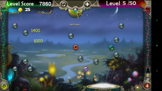 Взрывающиеся шарики - Pegland Deluxe для Android