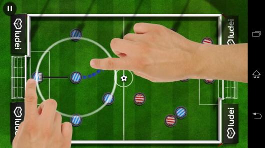 Параметры удара - Slide Soccer для Android