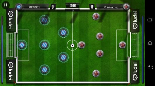 Зеленое поле - Slide Soccer для Android