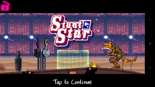 Меню - Stunt Star The Hollywood Years для Android