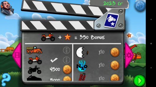 Бонусы -  - Stunt Star The Hollywood Years для Android