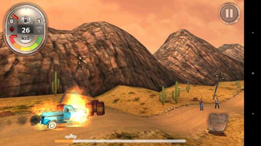 Взрыв бочек - Zombie Derby для Android