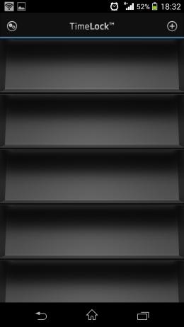 Список защищенных фото - TimeLock для Android