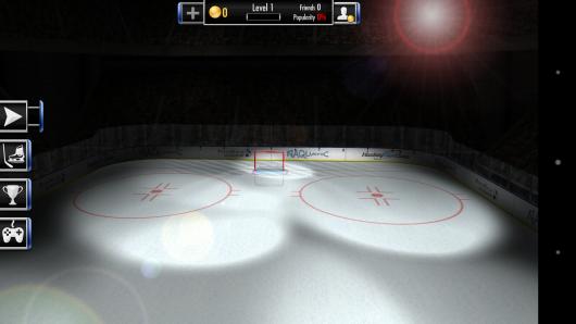 Хоккейное поле - Hockey Showdown для Android