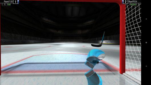 Камера на воротах - Hockey Showdown для Android