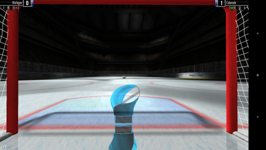На воротах - Hockey Showdown для Android