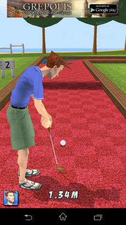 Первый удар - My Golf 3D для Android