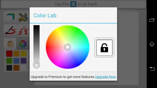Выбор цвета - Kid Mode для Android