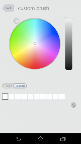 Выбор цвета - Flowpaper для Android