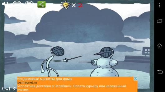 Как одолеть снеговика? - Weird Trollface Match для Android
