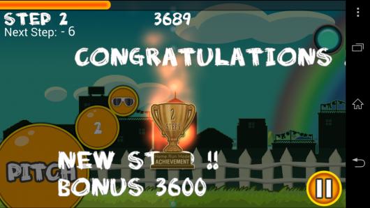 Результат - Flick Home Run! для Android