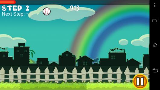 Удар по мячу - Flick Home Run! для Android