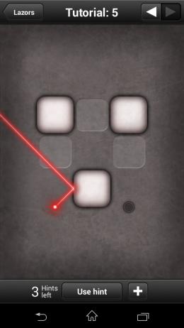 Геймплей - Lazors для Android