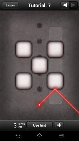4 контрольные точки - Lazors для Android