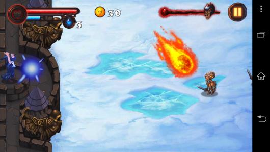 Огненная атака - Magic Defense для Android
