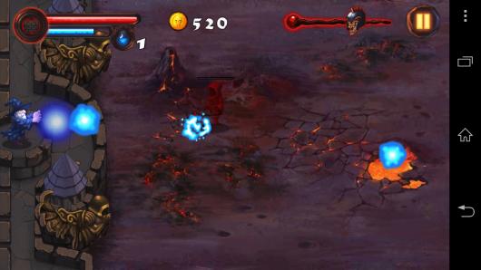 Убиваем нечисть - Magic Defense для Android
