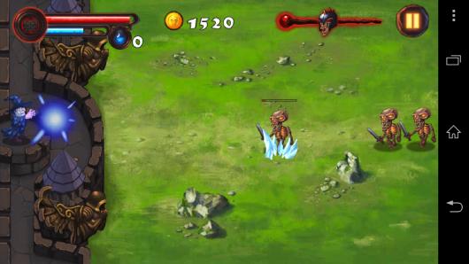 Заморозка - Magic Defense для Android