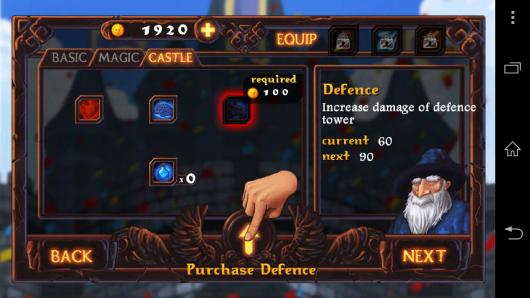 Улучшения - Magic Defense для Android