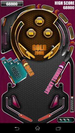 Начало игры - Pinball Pro для Android