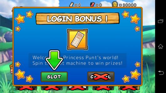 Авторизация - Princess Punt для Android