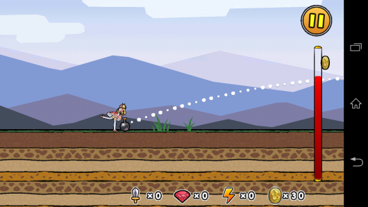 Полет рыцаря - Princess Punt для Android