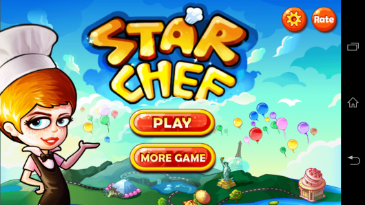 Меню - Star Chef для Android