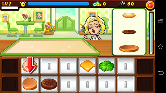 Готовим гамбургер - Star Chef для Android