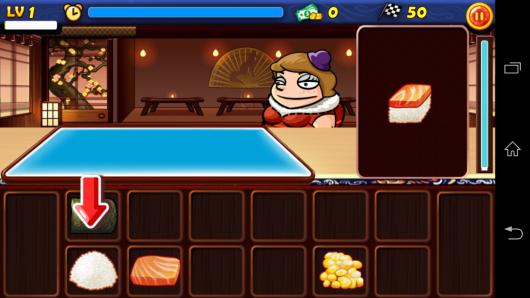 Готовим суши - Star Chef для Android