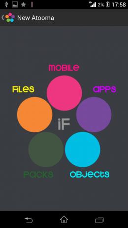Категории - Atooma для Android