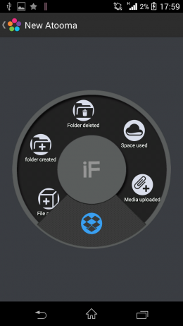 Условия - Atooma для Android