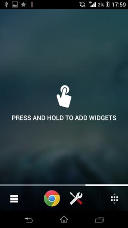 Подсказки - Chameleon Launcher для Android
