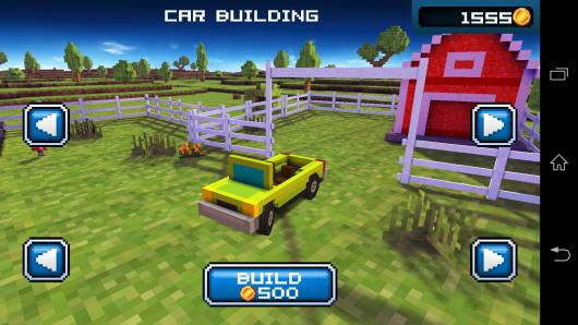 Выбор авто - Blocky Roads для Android