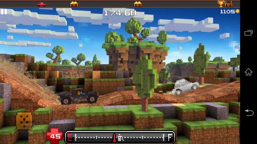 Бигфут - Blocky Roads для Android